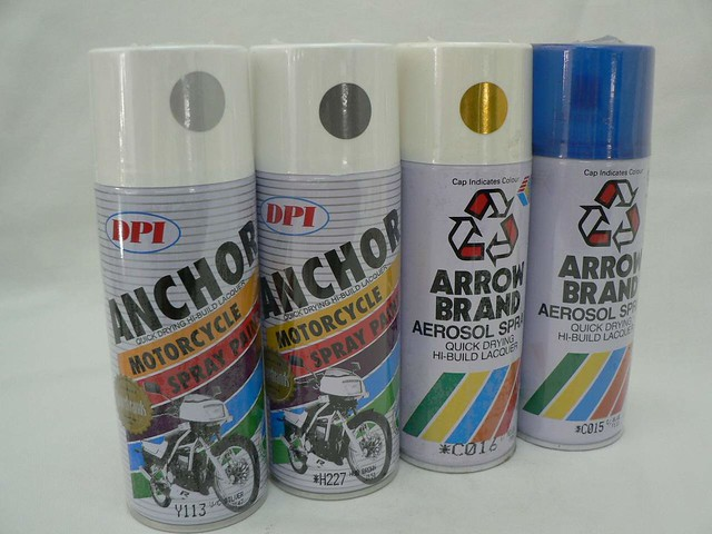 Spray Paint 1 Star By Arrow Anchor Brand Flickr Photo Sharing