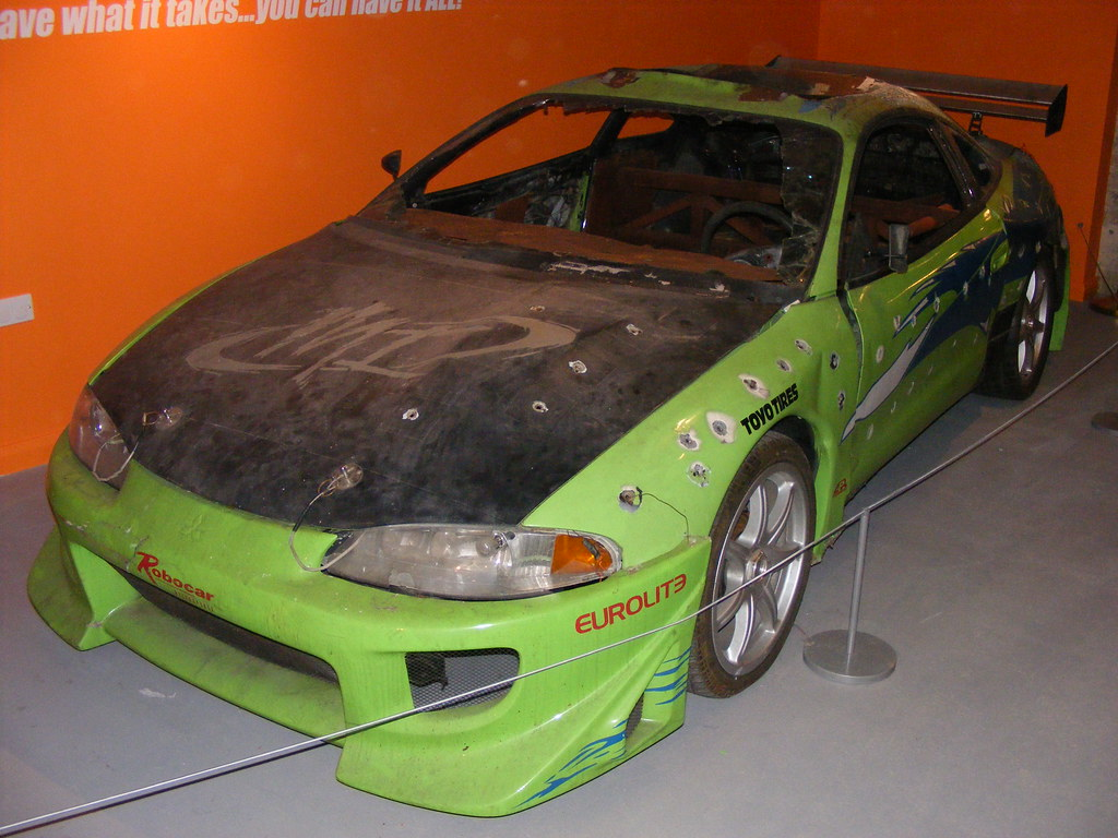 mitsubishi eclipse from the film 'the fast and the furious… | flickr