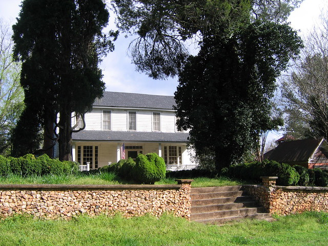 Farmhouse near Serenbe a New Utopian munity in Georgia