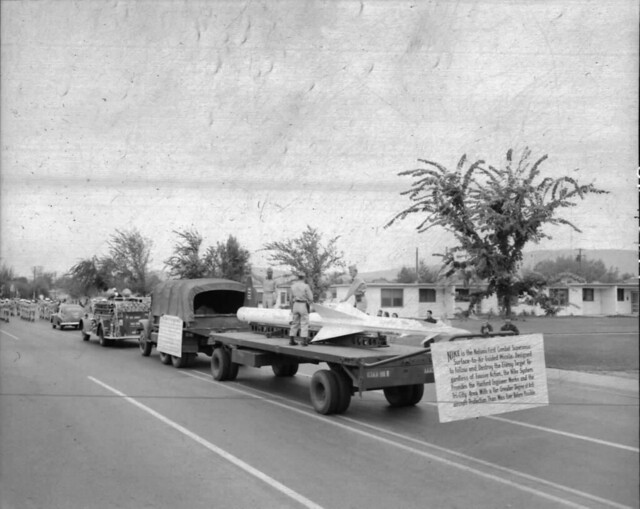 Fire Prevention Parade, 1955, The Nike Missile!