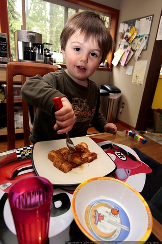 sequoia gets a proper introduction to french toast