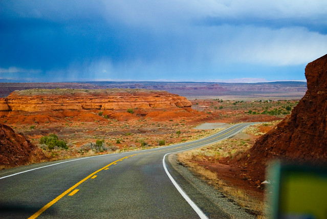 roadtrip, horizont