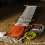 Traditional Backstrap Weaving - San Pedro Sacatepequez, Guatemala