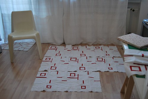 Shirttails Quilt Pattern by Wendy Williams - Early Morning WIP