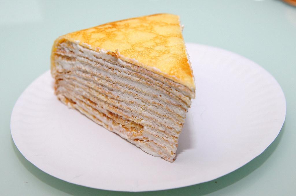 喜師傅果子工坊-貝里斯牛奶千層蛋糕