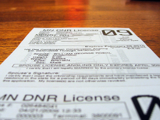 2009 Minnesota Fishing License Flickr Photo Sharing