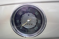 automotive exterior(0.0), wheel(0.0), rim(0.0), steering wheel(0.0), luxury vehicle(0.0), spoke(0.0), sports car(0.0), gauge(1.0), tachometer(1.0),