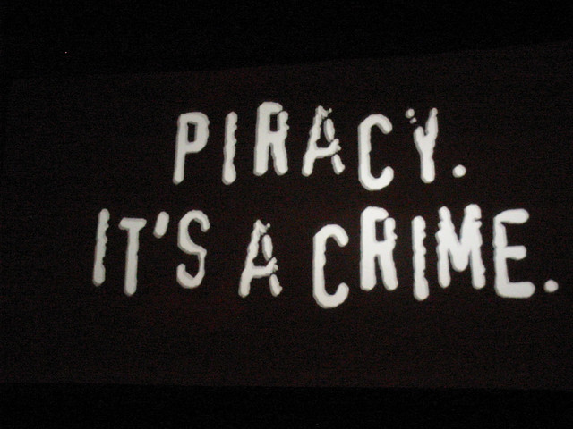 Piracy: it's a crime