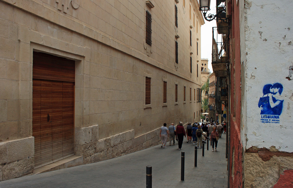 the Old Town, Alicante
