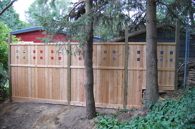 Craftsman Style Fence An Album On Flickr
