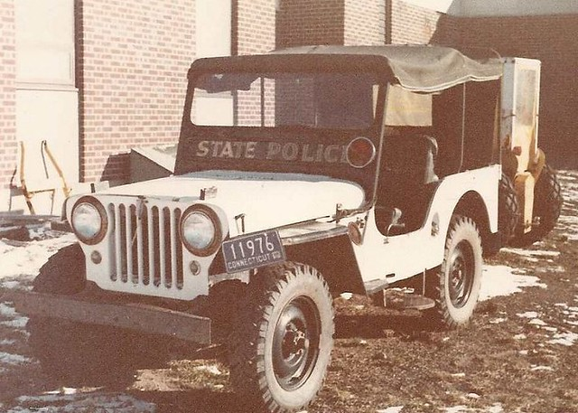 Williey Jeep CT State Police | At the academy in Meriden, un