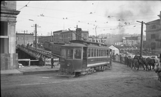 Streetcar in Pioneer Square, 1911