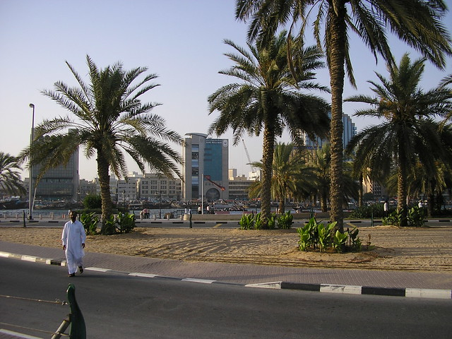 Gardens near Dubai Creek