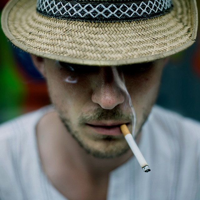 Stunning Collection of Smoking Portraits