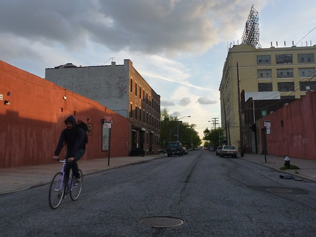 Richards Street at Sunset