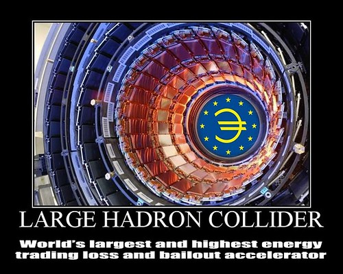 LARGE HADRON COLLIDER by Colonel Flick