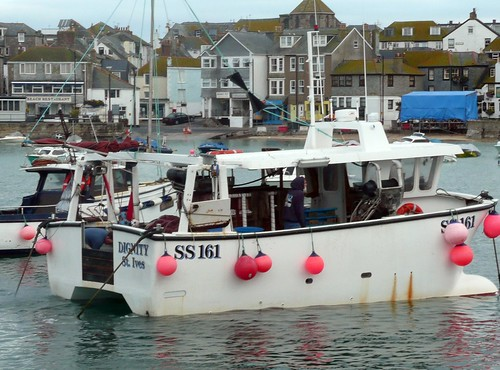 A Fishing Boat at St.Ives Cornwall