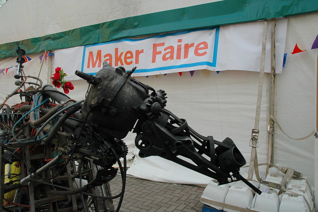 Iron Horse at the UK Maker Faire