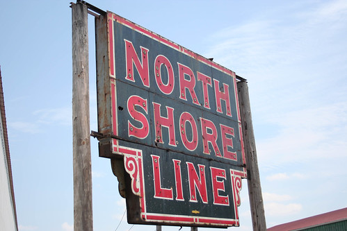 Old North Shore Line neon sign by William 74