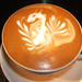 Latte Art Dragon