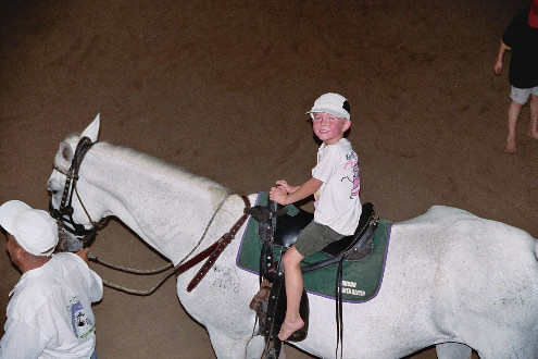 First Horseback Riding Experience by B Beard
