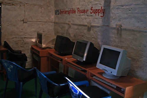 Computer room at Shreeshitalacom Lower Secondary School