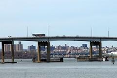 Rikers Island Bridge over Rikers Island Channel, East River, New York City