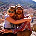 Small photo of Katie and Jables atop La Rocca