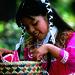 Small photo of Native American girl