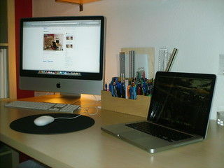 Workstation w/  MacBook