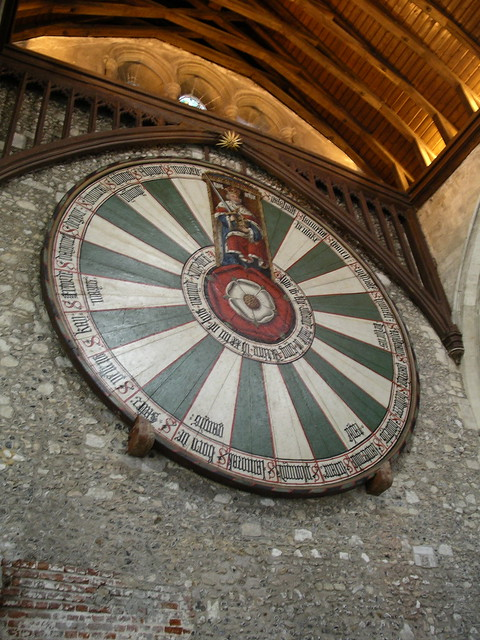 King Arthur 39 S Round Table Great Hall Winchester Castle Flickr