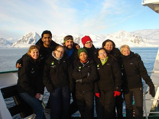 AIESECers in Antarctica