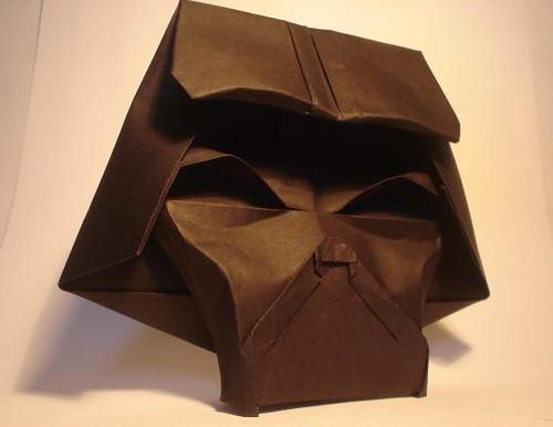 Origami-Darth Vader (2) | Flickr - Photo Sharing! - photo#6