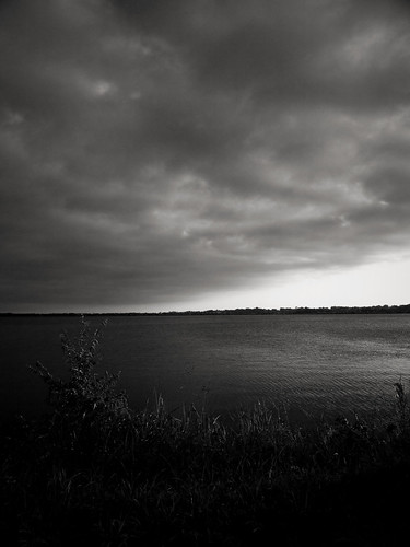 morning sky blackandwhite bw lake clouds sunrise texas olympus greenvilletexas e410 gtowneric
