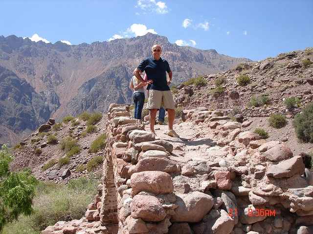 Crossing the Andes by bus, from Argentina (2)