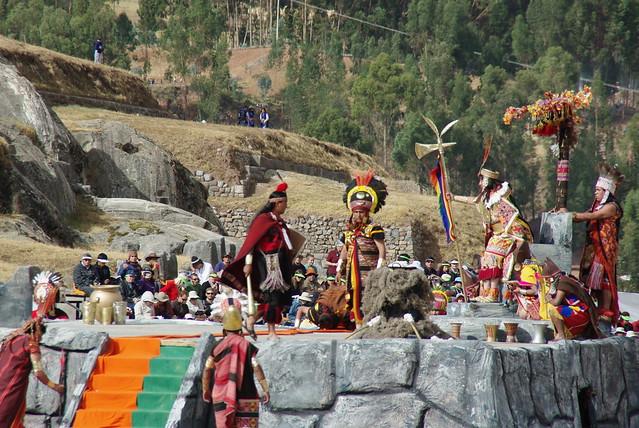 Inti Raymi (Fête du soleil) - Cusco (Peru)