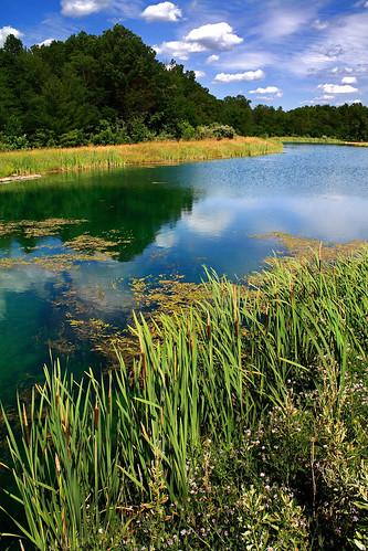 skyscape landscape pond leo indiana cumulus alto hdr fortwayne andrewmaciejewski