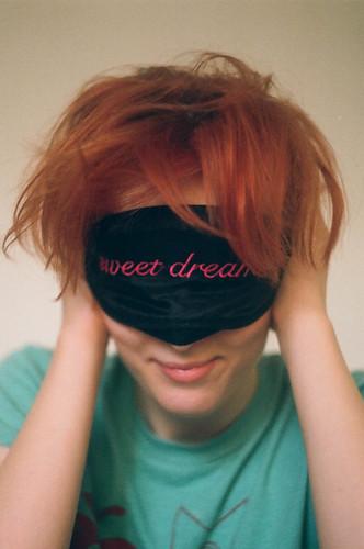 Dulces sueños, dice este antifaz