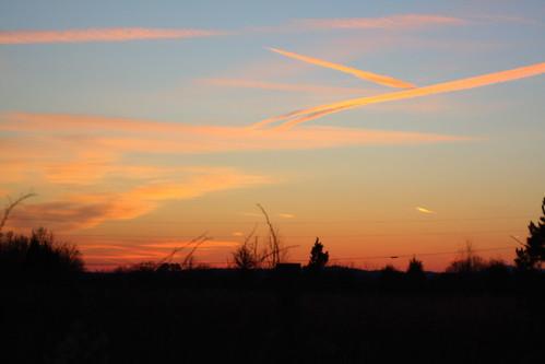 sunset nc northcarolina roadside potofgold hwy321 catawbacounty davidhopkinsphotography