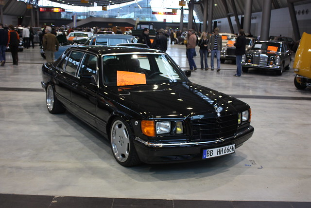 Mercedes S-Klasse W126 US-Version