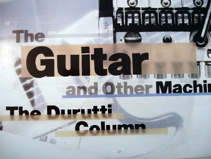 The Durutti Column – The Guitar and Other Machines Design: 8vo (1987)