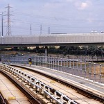 Docklands Light Railway.  New Beckton link 1994