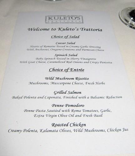 John Steinberg's Birthday Party, menu, kule… IMG_7889