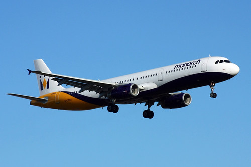 Monarch aircraft picture by Flickr User eisenbahner