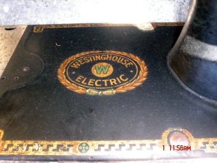 Old Westinghouse Sewing Machines, White-Westinghouse - Electrolux