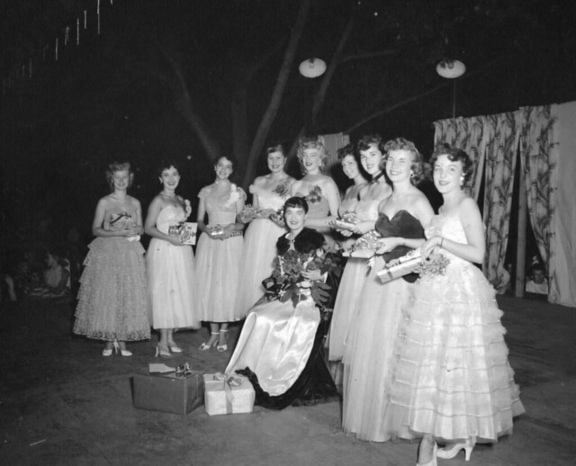 Atomic Frontier Days, Queen and Court