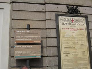 תמונה של Teatro alla Scala ליד Milano. italy milan italia milano lascala teatroallascala