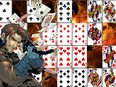 recreation, games, gambling, cartoon, card game, illustration,