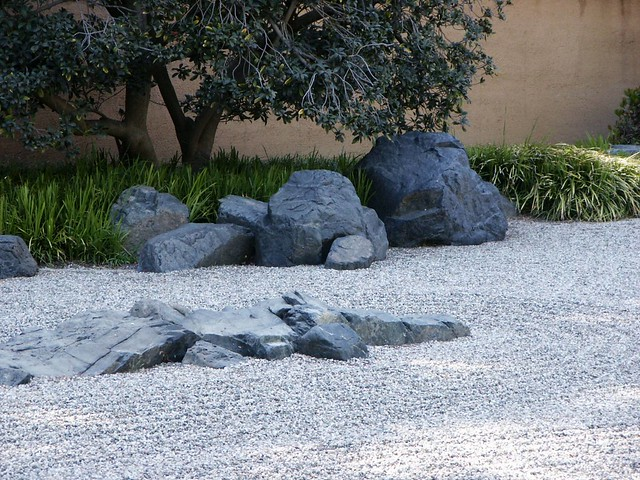 Huntington library japanese zen rock garden spring Pictures of zen rock gardens