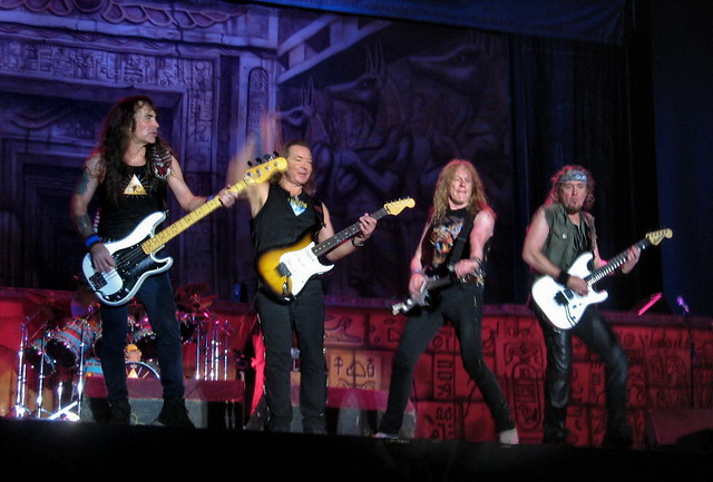 Steve Harris Dave Murray Janick Gers & Adrian Smith | Flickr Will Smith